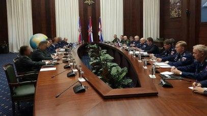 Russian-Israeli meeting  (Photo: IDF Spokesmans Unit)