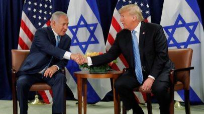 President Trump and PM Netanyahu (Photo: Reuters)