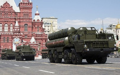 File: Russian S-300 air defense missile systems drive during a Victory Day military parade marking the victory in WWII in Red Square in Moscow, Russia, May 9, 2016. (AP Photo/Alexander Zemlianichenko)