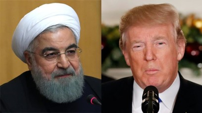 President Hassan Rouhani (L) and US President Donald Trump (Photo: AFP, AP)