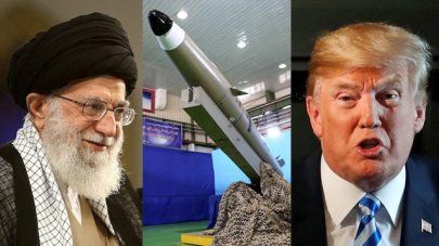 Ayatollah Ali Khamenei (L) and President Trump (Photo: Reuters, AFP)