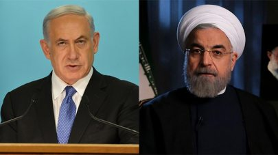 President Rouhani and PM Netanyahu (Photo: Kobi Gideon/GPO, AP)