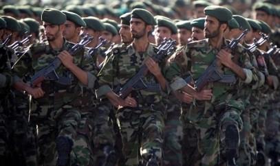 Members of Iran's Revolutionary Guards
