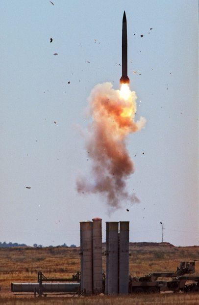 S-300 missile (Photo: AFP)