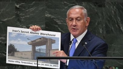 Netanyahu identifies secret atomic warehouse in Iran (Photo: AFP)