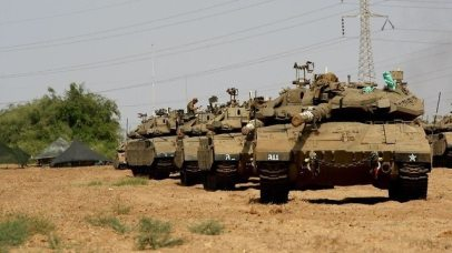IDF ramps up forces along border (Photo: Roee Idan)
