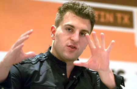 Airbnb's CEO Brian Chesky. Photo: Bloomberg