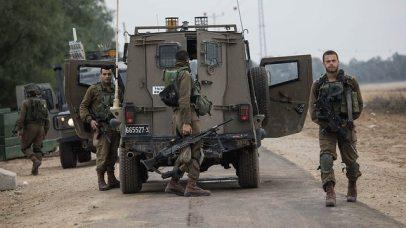 IDF forces on the Gaza border (Photo: AP)