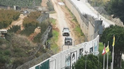 IDF activity from the Lebanese side