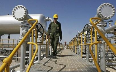 File: A technician in an oil field southwest of Tehran. (AP/Vahid Salemi)