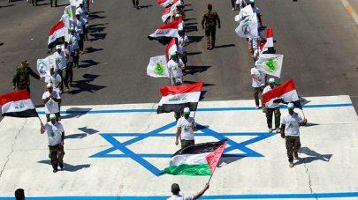 Anti-Israel demonstration in Baghdad, Iraq (Photo: Reuters)