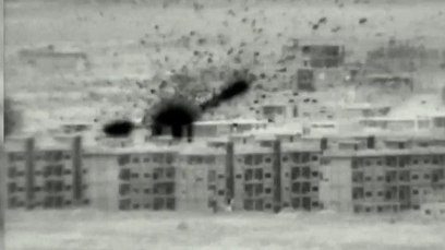 An Israeli strike on Iranian targets in Syria (Photo: IDF Spokesperson's Unit)
