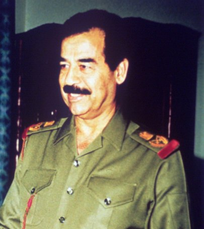 Iraqi dictator Saddam Hussein in 1991 (Photo: AP)