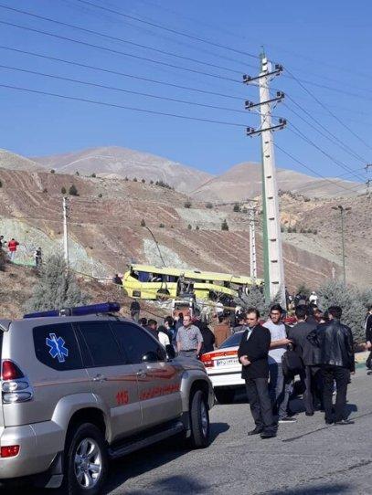 Azad bus crash