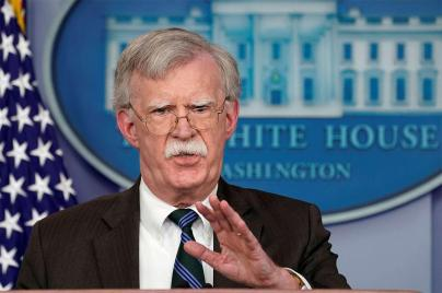 US President Donald Trump's national security adviser John Bolton