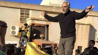 Iranian general Qassem Suleimani in Idlib, Syria