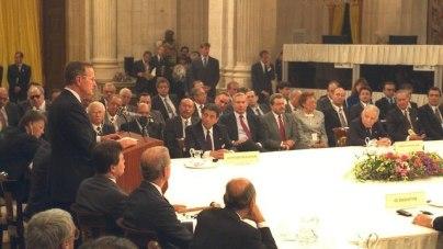 The 1991 Madrid Conference (Photo: Moshe Milner)