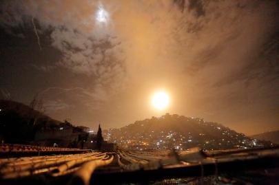 Israel strikes Iranian targets in Syria (Photo: EPA)