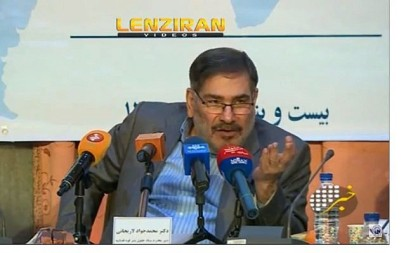 Screen capture from video of Ali Shamkhani, secretary of Iran's Supreme National Security Council. (YouTube)