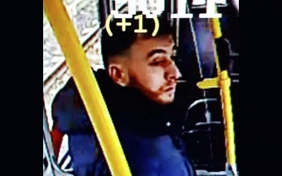 Suspected gunman Gokmen Tanis, 37, on March 18, 2019. Police believe he carried out a deadly shooting on a city tram that day. (Police Utrecht on Twitter, via AP)