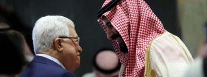 Report: Saudis already pressuring Abbas to accept Trump's Mideast plan
