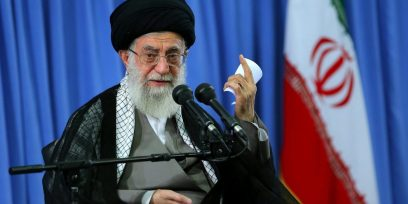 Iran's supreme leader says 'there will be no war with US,' vows to withstand pressure