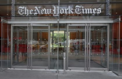New York Times preparing weekly TV show