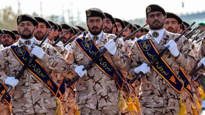 Iranian Revolutionary Guards (Photo: AFP)