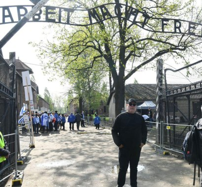 The March of the Living goes ahead in Poland, the Auschwitz concentration camp (Photo: Yossi Zliger)