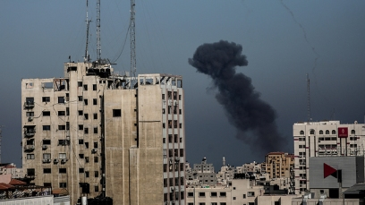 IDF bombing in Gaza (Photo: EPA)