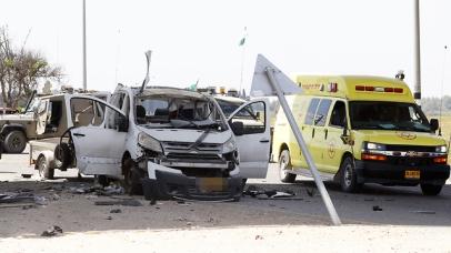 A rocket strike on a car near Sderot killed a man Sunday (Photo: AFP)