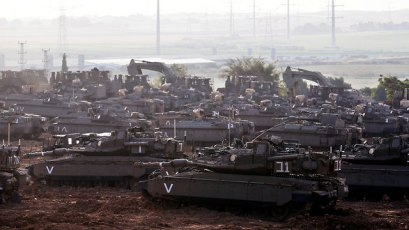IDF armor (Photo: Reuters)