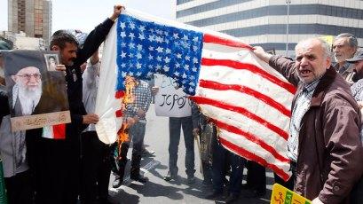 Anti-U.S. protests in Tehran  (Photo: EPA) (Photo: EPA)