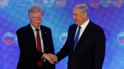 John Bolton and Prime Minister Netanyahu (Photo: Reuters)