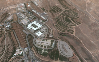 A Google Earth view of a Syrian scientific facility in Jamraya, near Damascus, before it was allegedly struck by Israeli warplanes in late January. (photo credit: image capture from Google Earth)