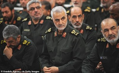 Iran's highest-ranking military commander arrived at the airport in the early hours of yesterday morning on a flight from Syria. Iran's state media said ten were killed in the attack