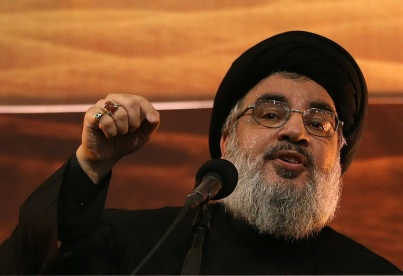 Nasrallah is trying to alter the equation